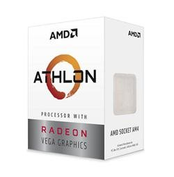 AMD Athlon 220GE (2core,3.4GHz.5MB, socket AM4,35W) Radeon Vega Graphics, Box