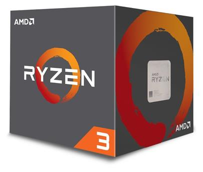 AMD Ryzen 3 4C/4T 1200 (3,1GHz,10MB,65W,AM4) box with Wraith Stealth 65W cooler