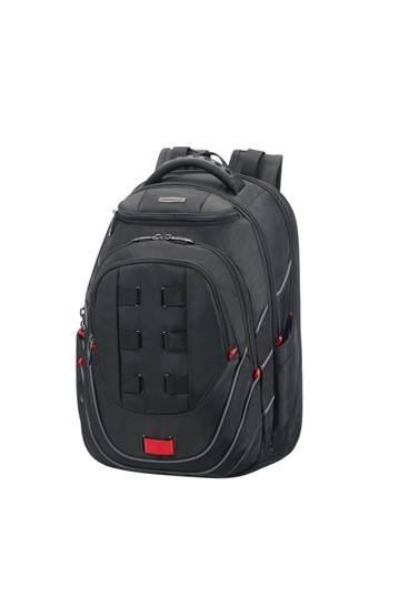e7b58c171 Backpack SAMSONITE 59N19001 17.3'' LEVIATHAN comp., doc., tablet,pock,  black/red