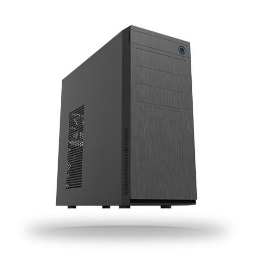 CHIEFTEC skříň Elox Series HC-10B, Miditower, USB 3.0, Black with Hair brush design front panel, bez zdroje