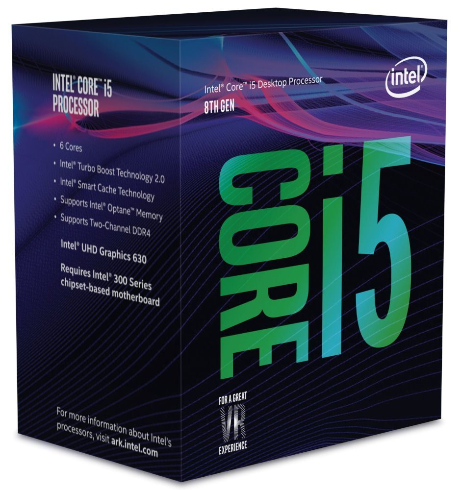 CPU INTEL Core i5-8500 BOX (3.0GHz, 9M, LGA1151, VGA)