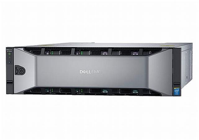 DELL Compellent SCv3020/7x600GB_15k/2x 10Gb iSCSI/2x1485W