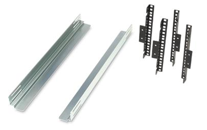 Equipment Support Rails for 600mm Wide Enclosure