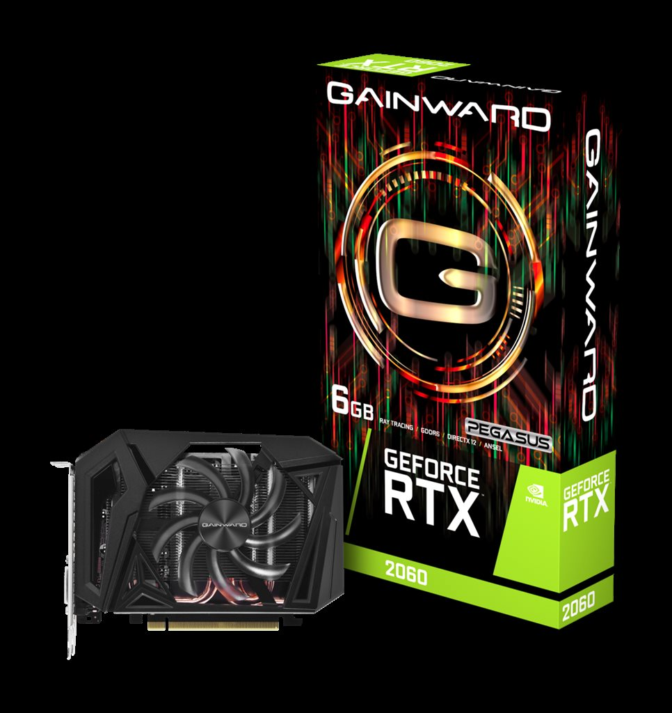 GAINWARD GeForce RTX 2060 Pegasus Mini-ITX 6GB GDDR6 192bit DP HDMI DVI-D
