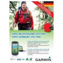 Garmin mapa TOPO Německo 2012 Pro, DVD + microSD/SD (with routable bike & hiking)