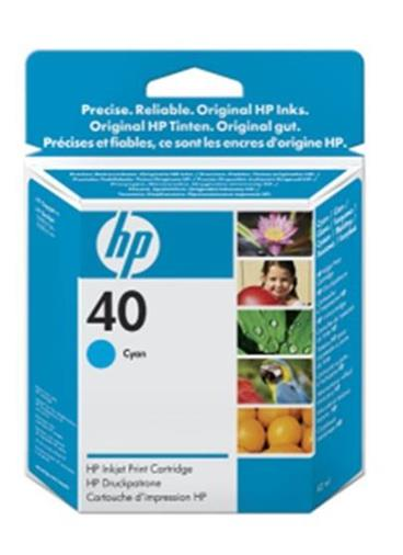 HP 51640CE Modrá Ink cartridge pro DesignJet 1200PS, 1600C, CM