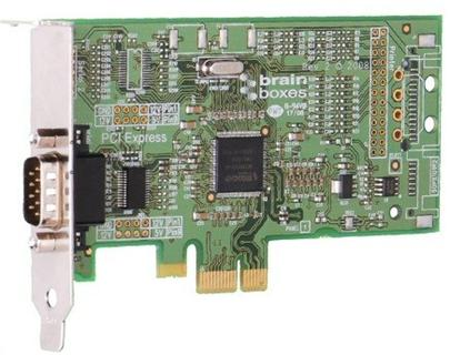 Lenovo Serial adapter Brainboxes PX-235 PCI Express low profile - seriový port RS232/DB9