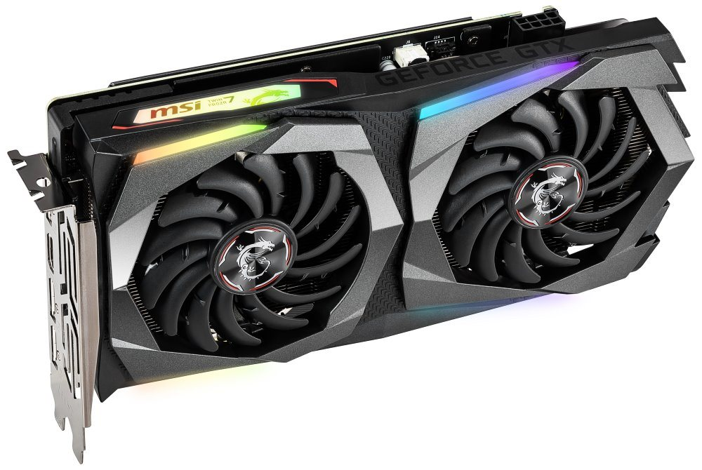 MSI GeForce GTX 1660 Ti GAMING X 6G / PCI-E / 6GB DDR6 / HDMI / 3x DP