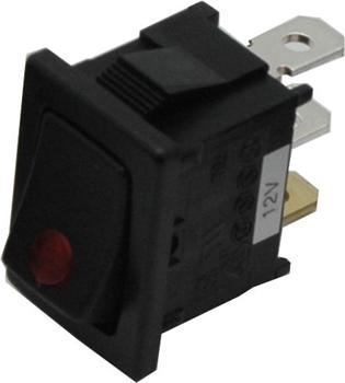 PRIMECOOLER LED Rocker Switch Square Red