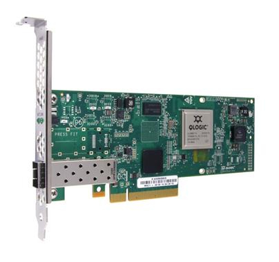 QLogic 10Gb Single Port x8 PCIe, LC multi-mode optic