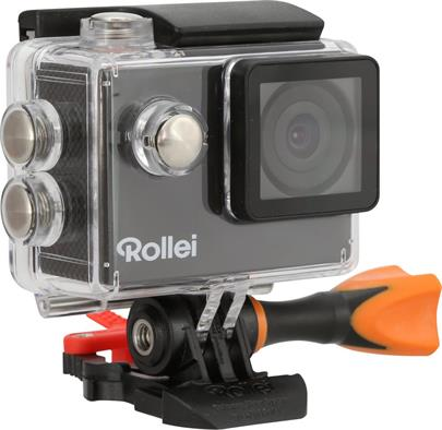 Rollei ActionCam 415 - FULL HD video 1080p/30 fps/ 140°/ 40m pzd./ Černá/ CZ + SK menu