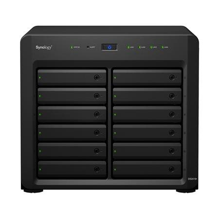 Synology DiskStation DS2419+, 24x SATA server, 4x 1Gb LAN