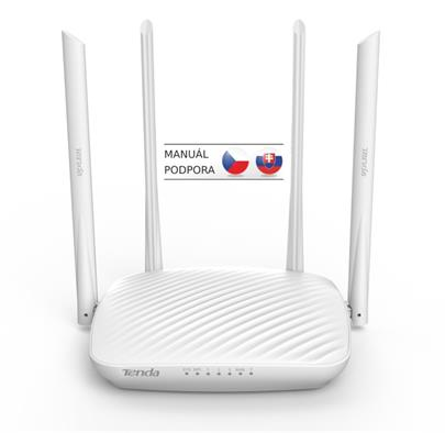 Tenda F9 Wireless-N Router 600Mb/s, 802.11 b/g/n, WISP, Universal Repeater, 4x 5dBi