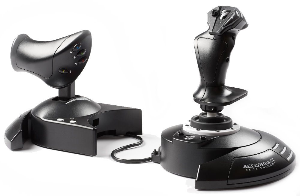 THRUSTMASTER Joystick T-FLIGHT HOTAS ONE Ace Combat 7 Edition pro Xbox One, Xbox One X, One S a PC